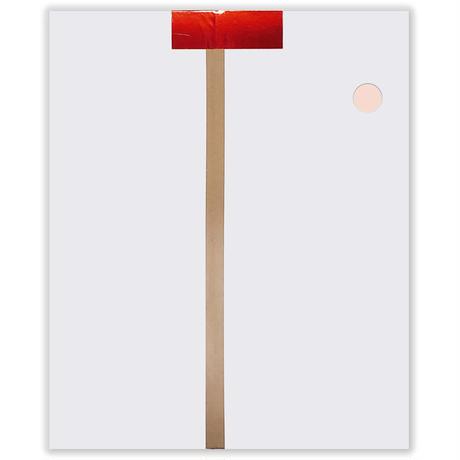 ホイルカラー紙 小判 460×360mm 100枚入 全10色 工作・飾りつけに最適