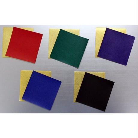 金箔両面和紙折紙 単色 18㎝ 10枚入