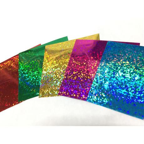 ホログラム 両面カラー 75mm×75mm