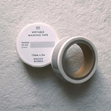 KNOOPWORKS マスキングテープ15mm