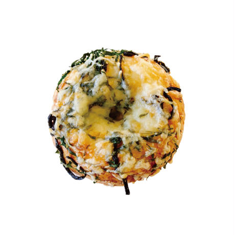 塩昆布と大葉とチーズ