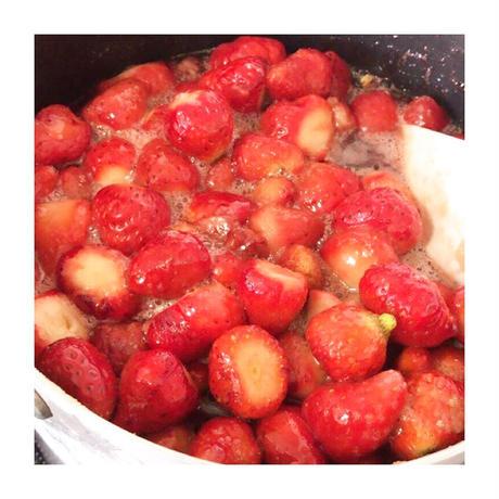 【季節限定】カルダモン香るいちごのコンフィチュールとクリームチーズ 【yakuzenベーグル】
