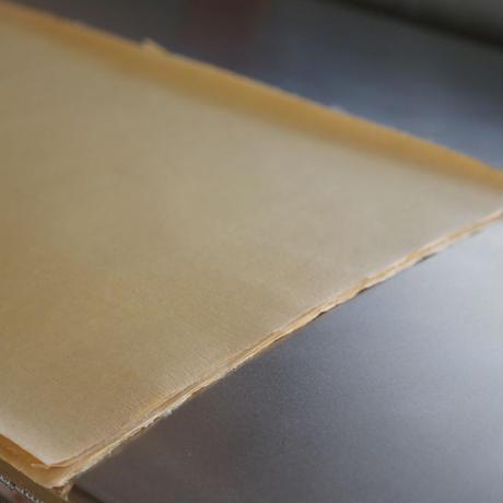 アウトレット品 雁皮紙 草木染 No.9-10 書道用紙 備中和紙
