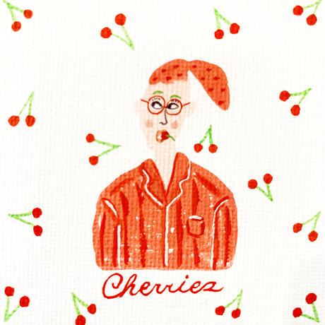 Cherries ミニキャンバス原画 2