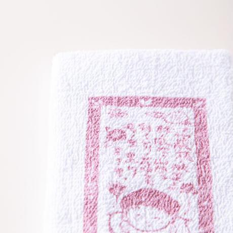 黒川温泉 オリジナルタオル(紺色・朱色2色セット)