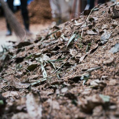 「黒川温泉一帯地域コンポストプロジェクト」で作成した完熟堆肥
