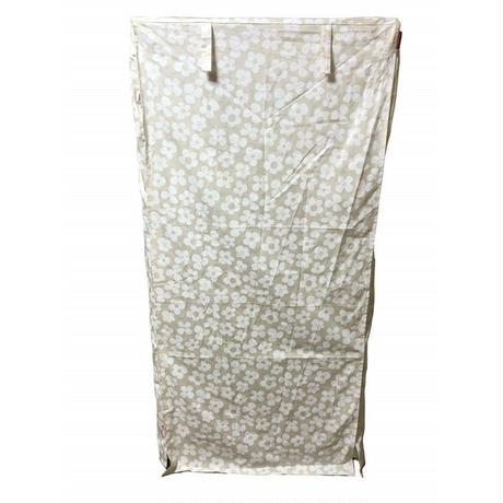 Cocoheart ケージカバー日本製(縫製・帆布/綿100%)(横幅85cmX奥行き60cmX高さ180cm) (3段ケージ用 Aタイプ, フラワーベージュ)