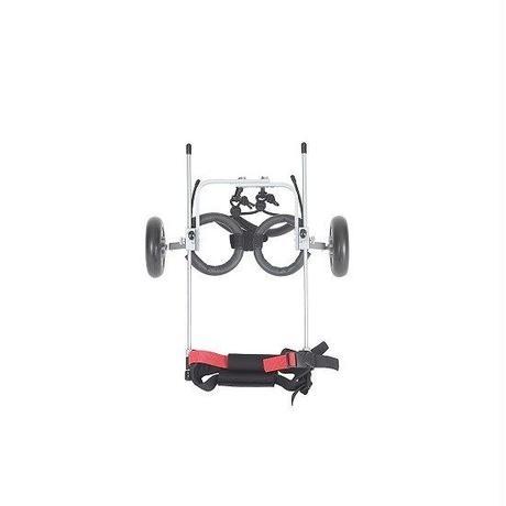 COCOHEART/ワンちゃん/ネコちゃん/車いす/後肢サポート/組立完成品 (XXS型・2.5kg以下・胴幅11cm-14cm・胴体中間までの高さ15cm-20cm)