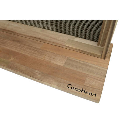 【CocoHeart】爪とぎ用 木製ラック(爪とぎ6枚付き)日本製 ココハート オリジナル