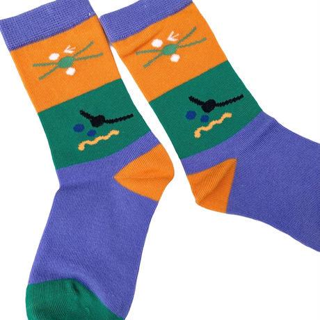 【14-20cm】funny 3pc socks
