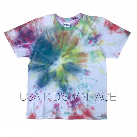 【vintage約130cm】jakey君のタイダイt-shirts