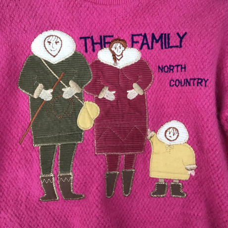 【vintage130cm】THE FAMILLY sweater