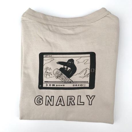 【100-120cm】GNARLY longsleeve t-shirts