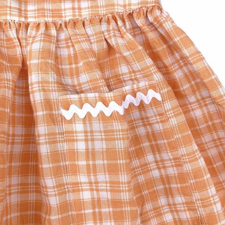 JuRian Kinder *orange onepiece【jk185】