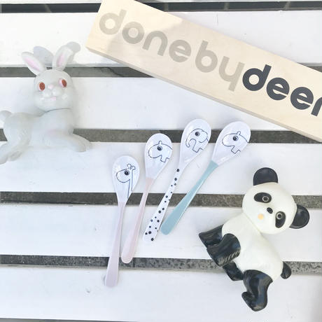 【done by deer】ハッピードット スプーン