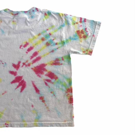 【vintage約120cm】ライトグレータイダイt-shirts