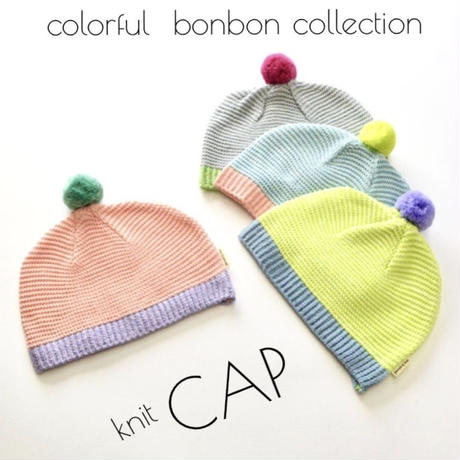 colorful BON BON collection キャップ