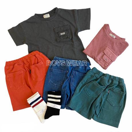 【80-130㎝】ポケットTシャツ
