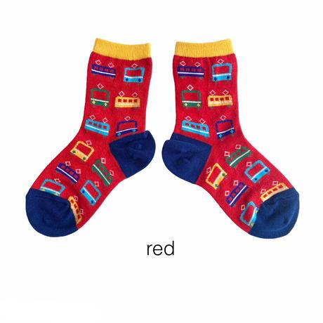 【16-18cm】電車socks