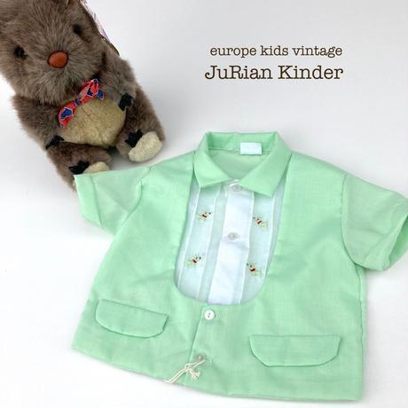 JuRian Kinder *dog baby blouse【jk192】