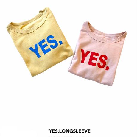 【80-130㎝】YES. longsleeve