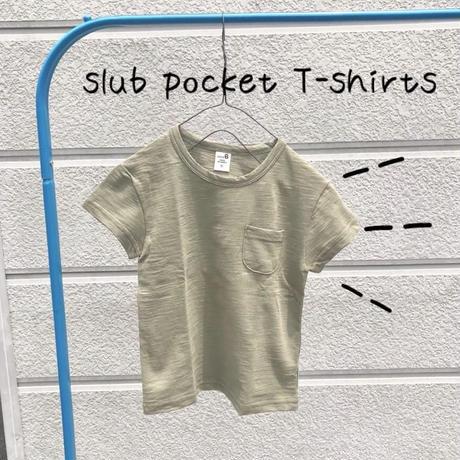 スラブカーキTシャツ
