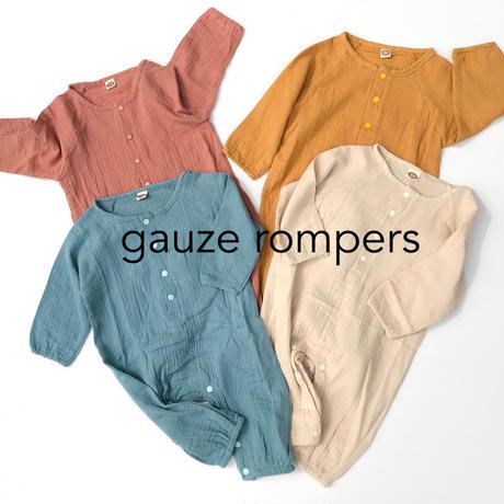 【70,80cm】gauze  rompers