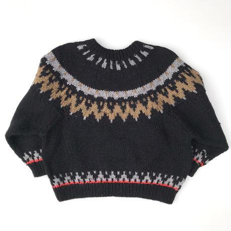【vintage110cm】black sweater