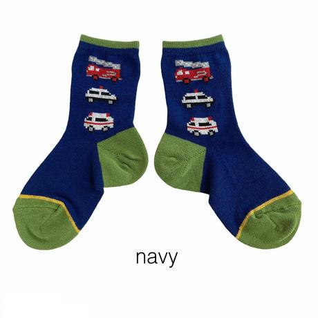 【16-18cm】働く車socks