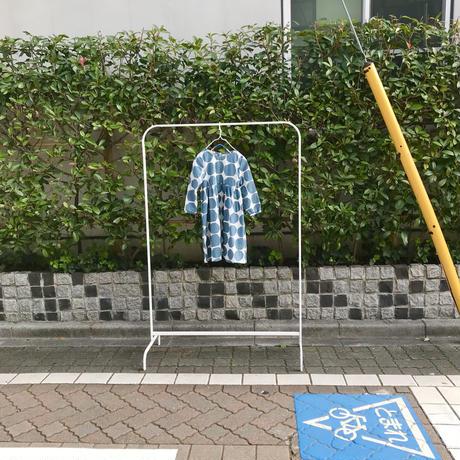 【130cm】big dot cotton onepiece