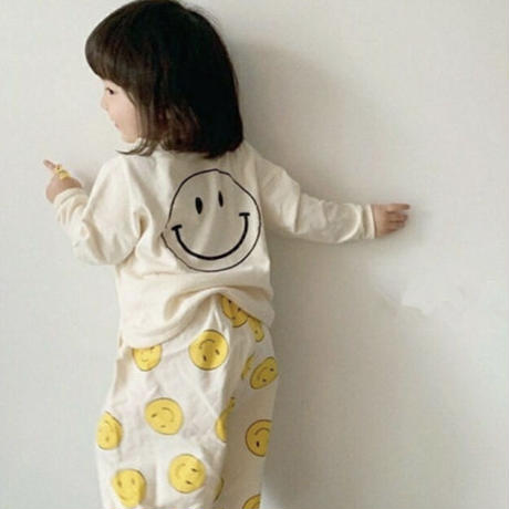 【73-100cm】smile longsleeve