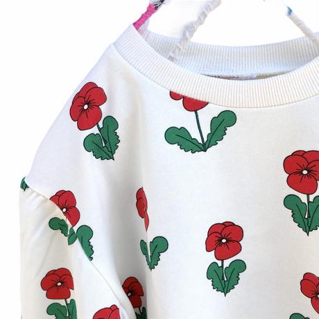 【80-120㎝】red flower sweat