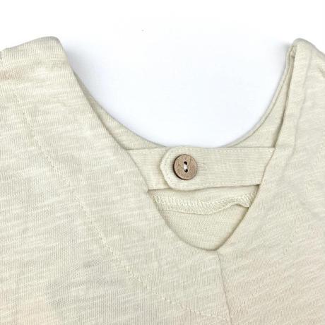 【80-130㎝】premier バックデザインランダムヘムTシャツ