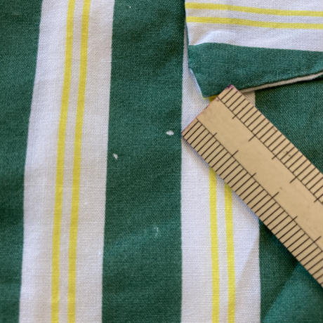 【110,120㎝】green stripe onepiece