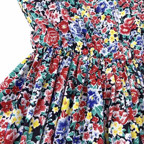 JuRian Kinder *flower n/s onepiece【jk186】