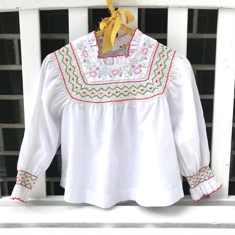 JurianKinder *embroidery  blouse【jk152】