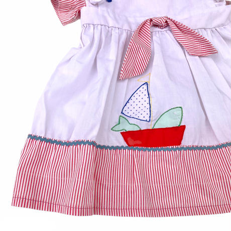 JuRian Kinder *yacht baby dress【jk190】