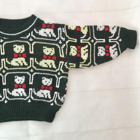 *JurianKinder*cat knit 【jk126】