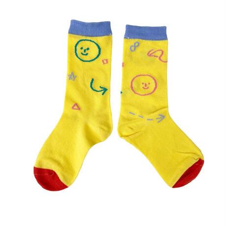 【14-20cm】SMILE 3pc socks