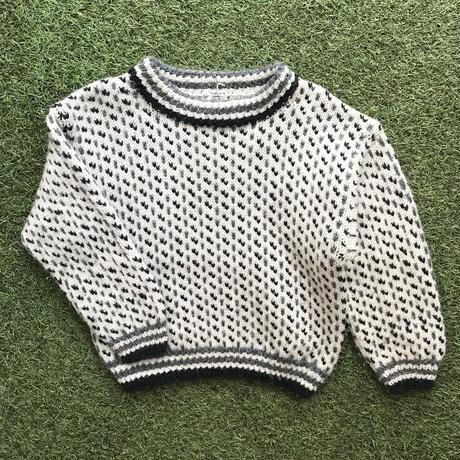 *JurianKinder*ivory×gray knit