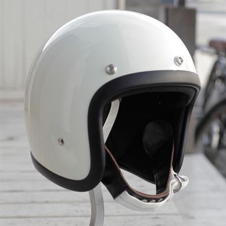 BORN FREE ヴィンテージスタイル ヘルメット アイボリー