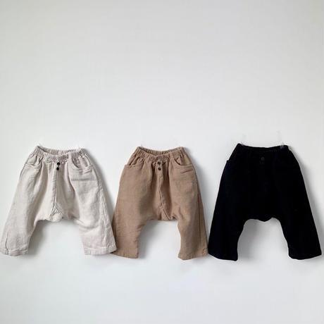 button baggy pants