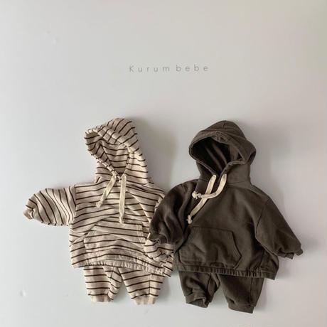 stripe hooded set(上下セット)