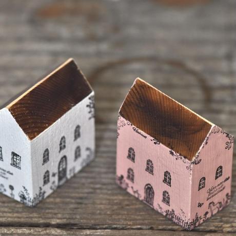 ハウス2個セット(白M、ピンクM)  のセット