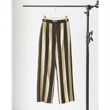 【御予約】acquard Stripe Pants