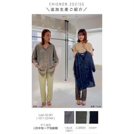 【御予約】リーフJQシャツ