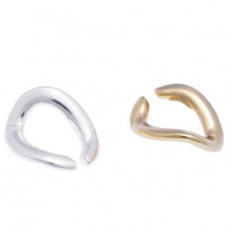 Triangle chain Ear cuff