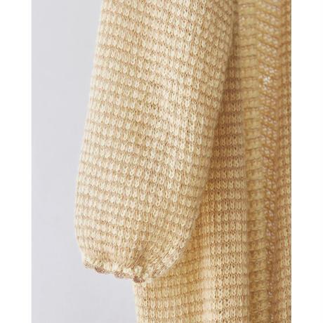 【御予約】Mohair Scallop Gown