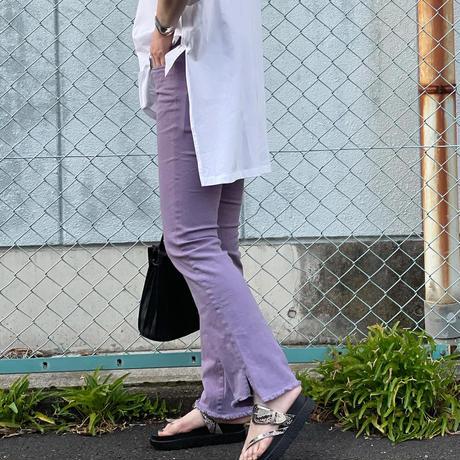 【低身長サイズ登場✨】裾フリンジパンツ