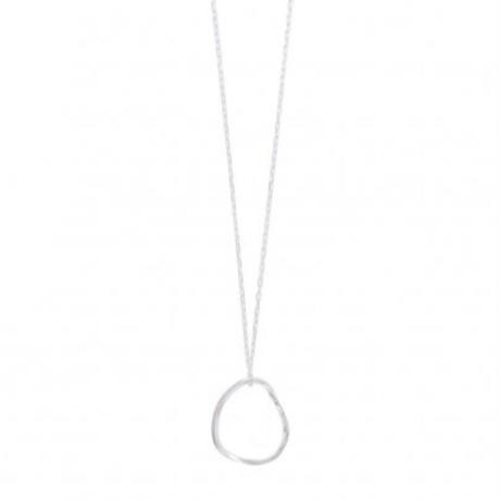 Twist hoop necklace